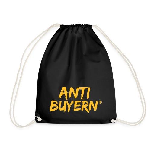 ANTI BUYERN YELLOW - Turnbeutel