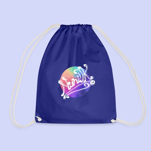 pastel rainbow, NuniDK Collection - Female top - Sportstaske