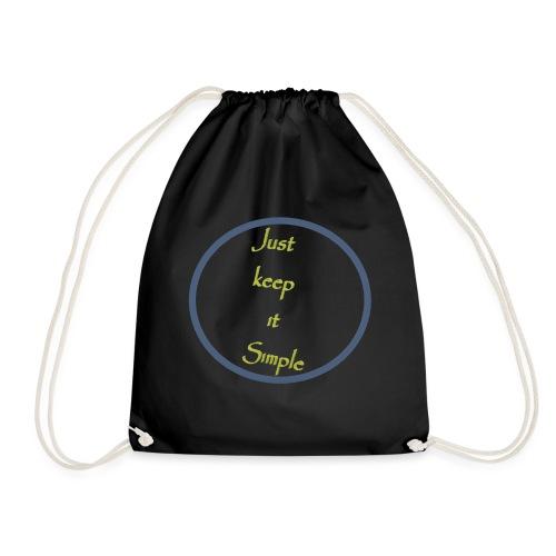 Keep it simple - Drawstring Bag