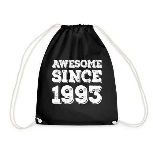 Awesome since 1993 Geburtsjahr Birthday - Turnbeutel
