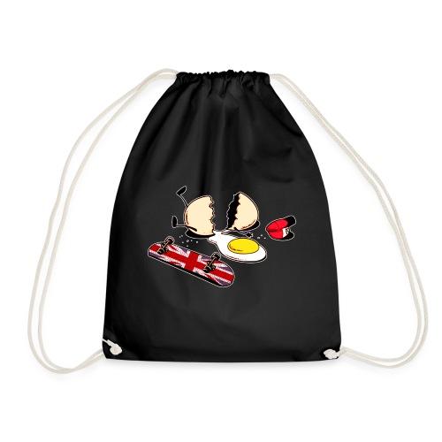 Egg Crack - Drawstring Bag
