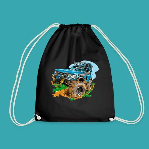 Big Blue - Drawstring Bag