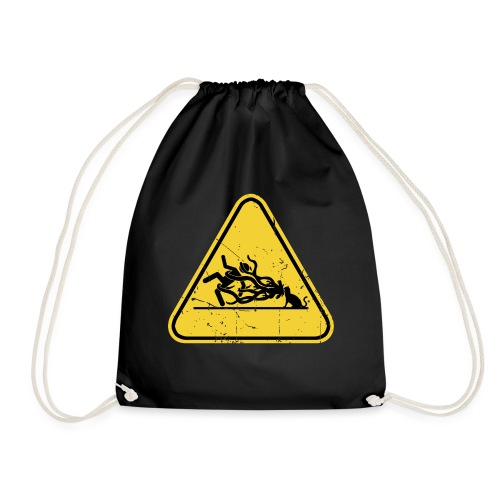 Forsigtig, ikke en kat - Sportstaske