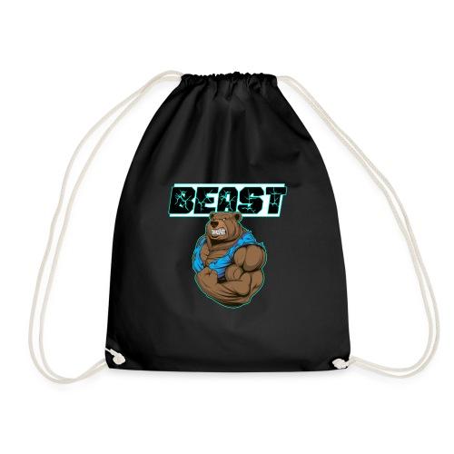 Beast Bär Fitness Training Body building Geschenk - Turnbeutel