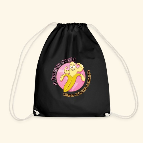 Echt starke Banana - Drawstring Bag