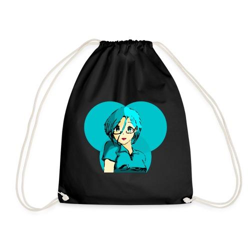 Chica azul 2 - Mochila saco