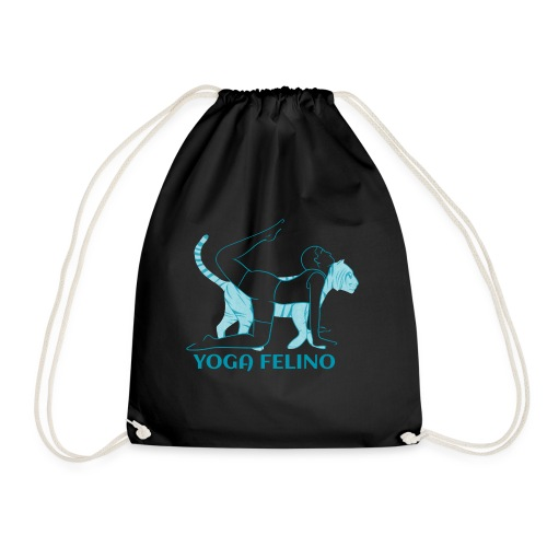 t shirt design YOGA FELINO - Sacca sportiva
