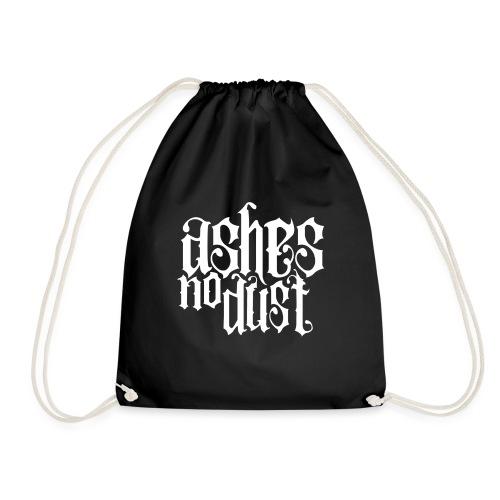 White logo Ashes No Dust - Sac de sport léger