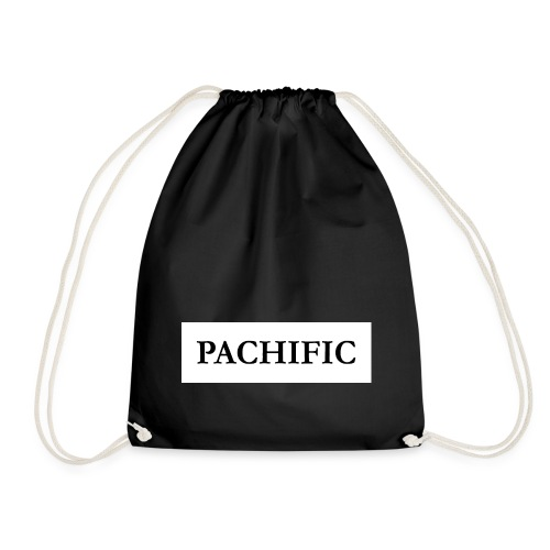Original Be Pachific print black on white - Turnbeutel