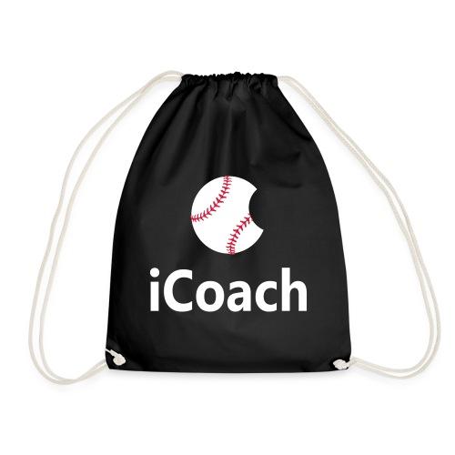 Baseball Logo iCoach - Drawstring Bag
