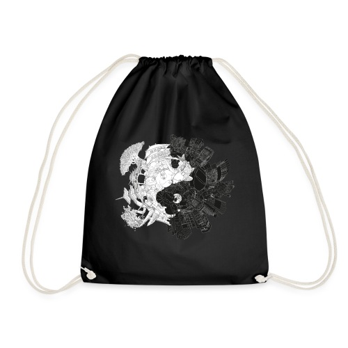 New Yin Old Yang - Drawstring Bag