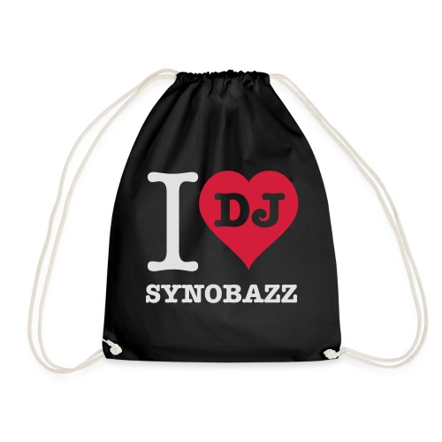 i love synobazz - Turnbeutel