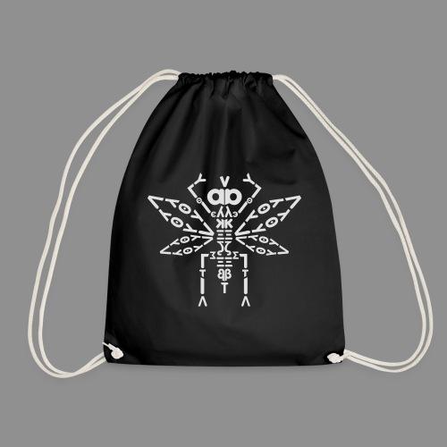 Letteroptero_small - Drawstring Bag