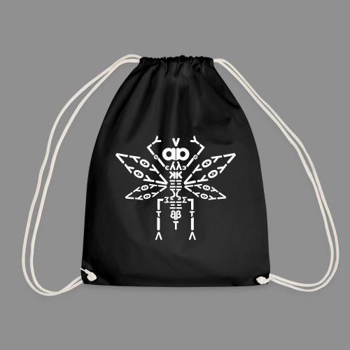 Letteroptero_small - Drawstring Bag