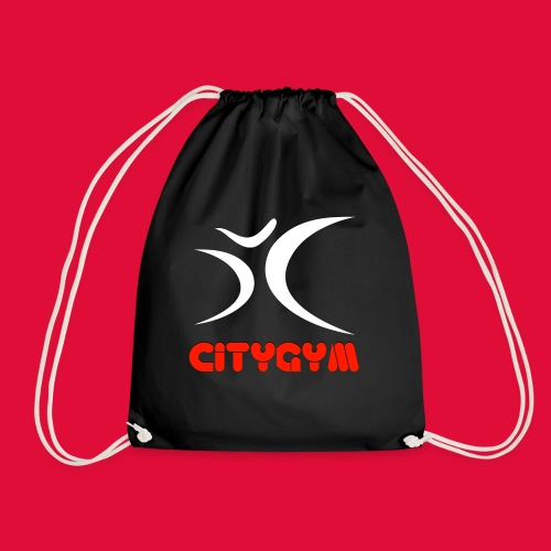 CityGym Guys Pullover - Black - Drawstring Bag