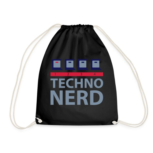 Techno Nerd - Drawstring Bag
