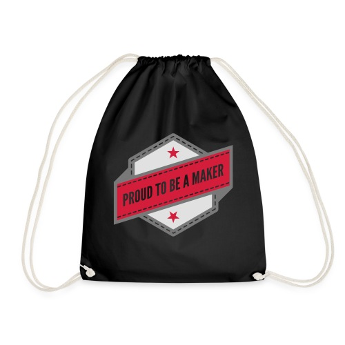 logo Vintage Proud to be a Maker - Sac de sport léger