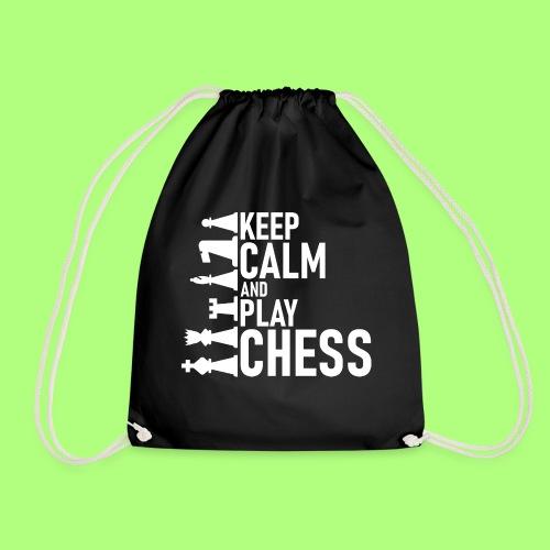 chess Spiel shirt Schule school - Turnbeutel