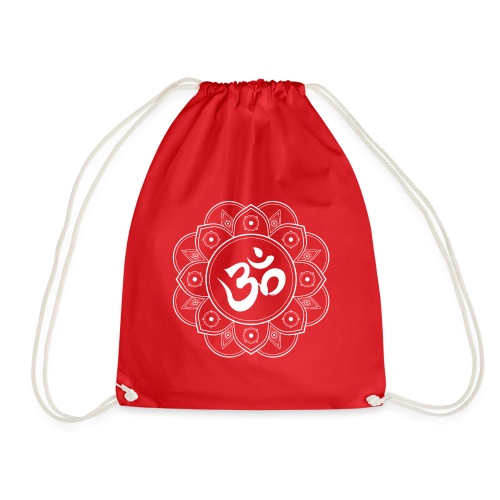 Om Mandala - Drawstring Bag