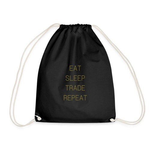 Eat Sleep Trade Repeat Design - Gymtas
