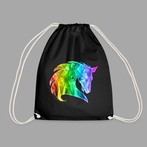 Rainbow Horse - Sacca sportiva