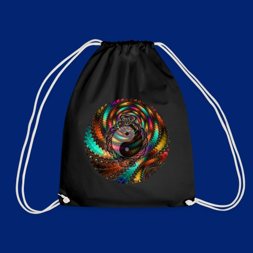 One More Fractal - Drawstring Bag
