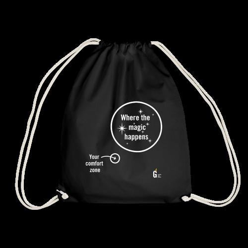 Where the magic happens II - Drawstring Bag