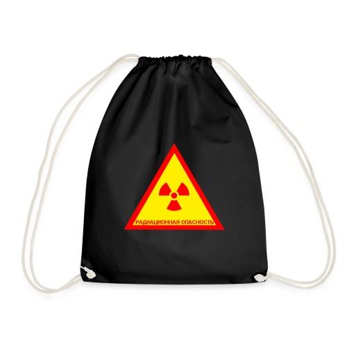 Achtung Radioaktiv Russisch - Turnbeutel