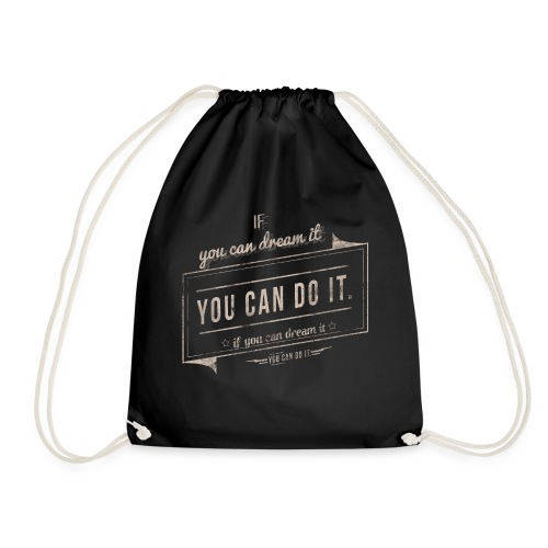 you can do it - Worek gimnastyczny
