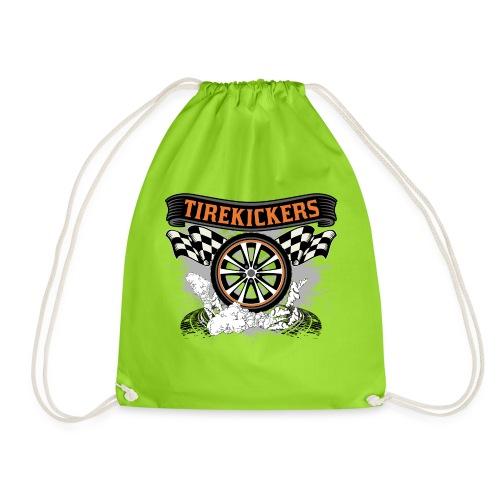 Tirekickers – Wheel ans Racing Flags - Turnbeutel