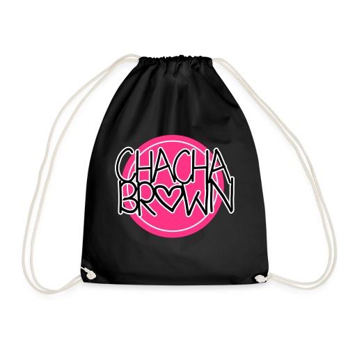 Chach Brown Big Logo - Gymtas