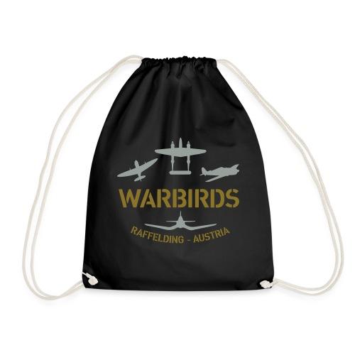 Kontrast-Shirt Warbirds Raffelding - Turnbeutel