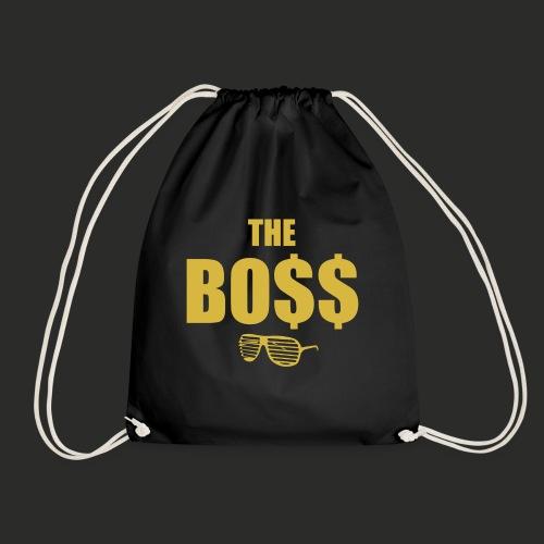 The Bo$$ Mens T-Shirt - Drawstring Bag