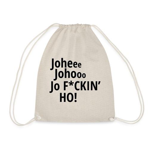 Premium T-Shirt Johee Johoo JoF*CKIN HO! - Gymtas