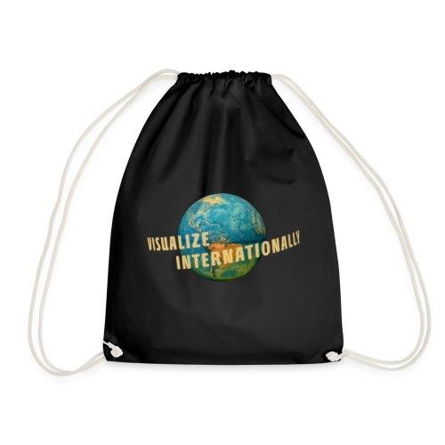 Visualize Internationally Shirt - Drawstring Bag