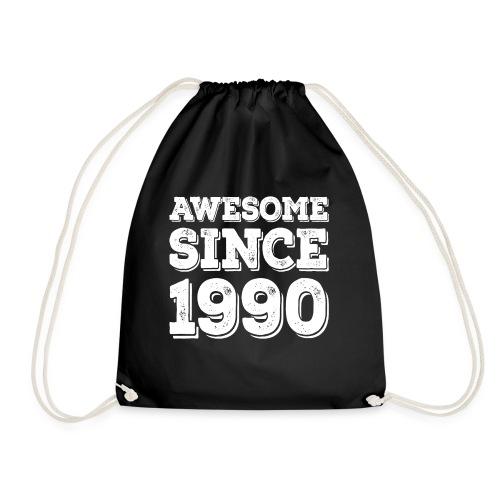 Awesome since 1990 Geburtsjahr Birthday - Turnbeutel