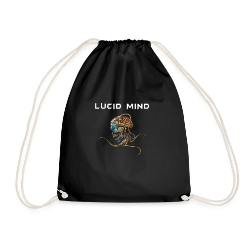 Lucid Mind Logo - Turnbeutel