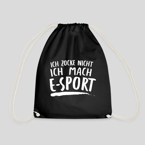 Gaming Zitat E-sport - Turnbeutel