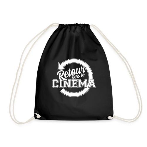 Logo blanc Retour vers le Cinéma - Sac de sport léger