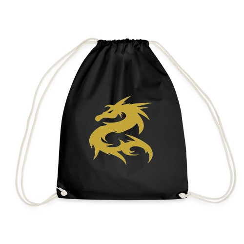 Dragon color de oro - Mochila saco