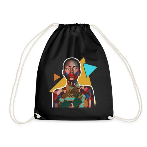 Pieces of me - Drawstring Bag
