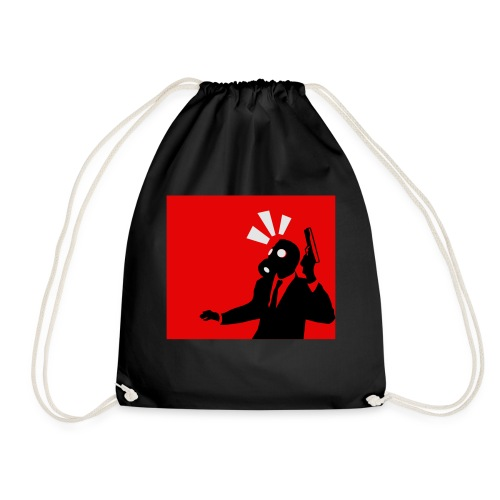 Gasmask - Drawstring Bag