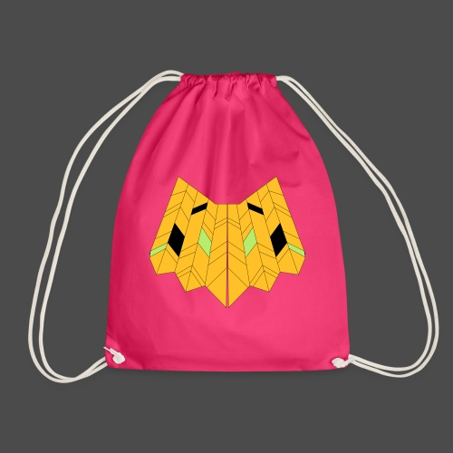 Owl Colour Redraw - Drawstring Bag