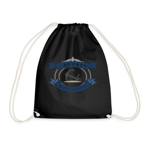Captain Off Duty - Captain out of service - Drawstring Bag