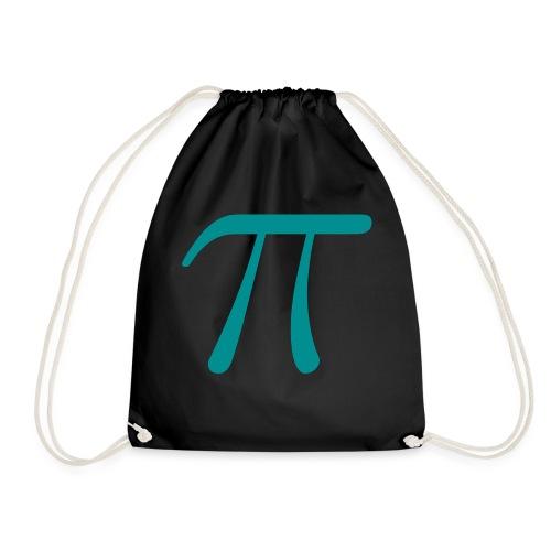 Pi blue t-shirt - Drawstring Bag