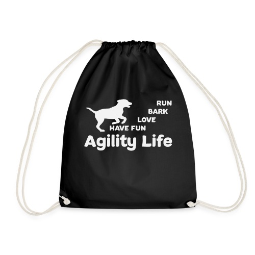 Agility Life T-Shirt Hundesport - Turnbeutel