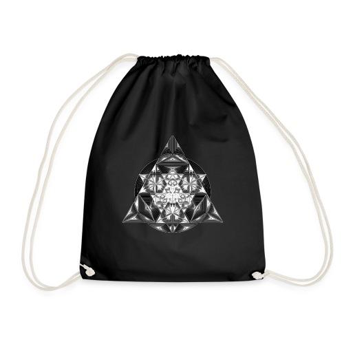 Sacred Triangle Dimensions - Drawstring Bag