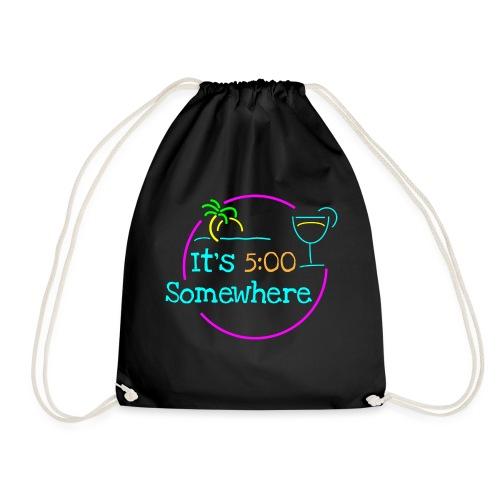 5 O Clock - Drawstring Bag
