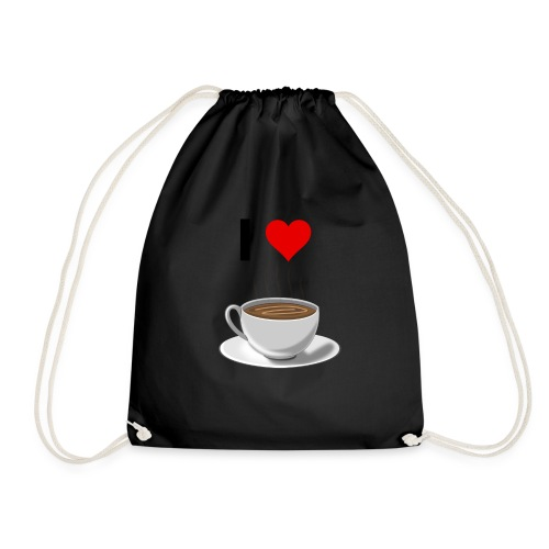 I LOVE Coffe - Turnbeutel