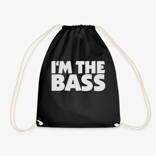 Im the Bass 2 (Weiß) - Turnbeutel